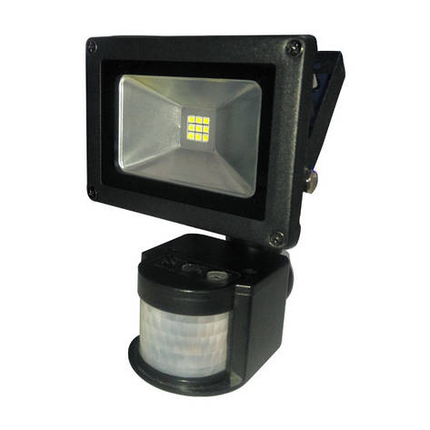 Прожектор светодиодный LITEJET-10W 6500 smd с датчиком движения, фото 2