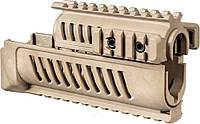 Цевье FAB Defense AK-47 полимерное для АК47/74 песочный