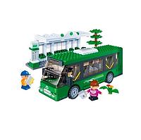 Конструктор Автобусная остановка 372 детали BanBao 8768