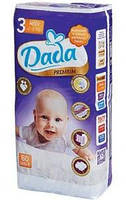Подгузники Dada Premium 3 (4-9 кг) 60 шт.