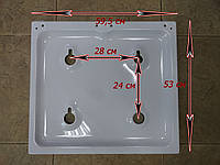 Ориганальная газовая поверхность газовой плиты Старый Брест модели 1452-02.001 и 1457, фото 1