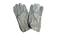 Перчатки краги серые кароткие