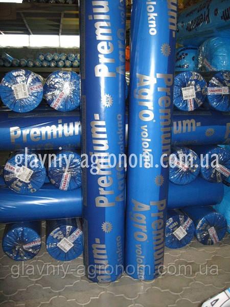 Агроволокно белое укрепленный край Premium-Agro 23 гр/кв.м, ширина 6,35 м (100 м), Польша