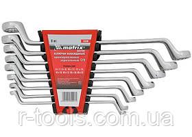Набор ключей накидных 8 шт 6-22мм CrV Elliptical зерк хромирование MTX  Master 153389
