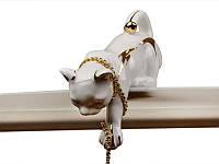 Статуэтка Кошка 15 см фарфор 149-052