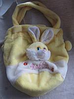 Сумка - рюкзак детский плюшевый