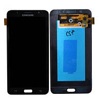 Дисплей (LCD) Samsung J710 Galaxy J7 (2016) with touch screen black