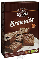 Био-Пирог Брауни без глютена, смесь для выпечки, 400 г, BAUCKHOF