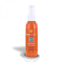 Органический солнцезащитный спрей для лица и тела SPF50+, 100 мл, Biosolis