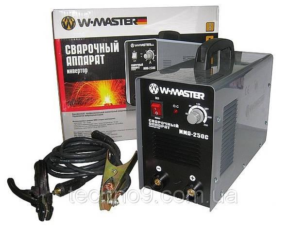 Сварочный инверторный аппарат WMaster MMA250 , фото 2