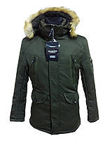 Зимняя мужская теплая парка (куртка) Sea&City