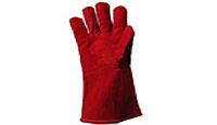 Перчатки замшевые теплые с мехом