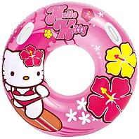 Круг 58269 (12шт) Hello Kitty, 97см, с ручками, от 9-ти лет, в кор-ке, 26,5-20,5-4,5см