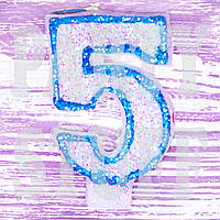 Свечи цифры  5
