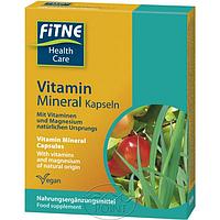 Капсулы натуральные Мультивитамины и минералы, 1 уп, FITNE