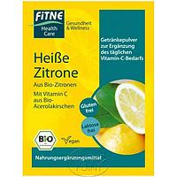 Органический порошок для горячего напитка Лимон, 7 г, FITNE