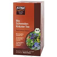 Органический чай Горькие шведские травы для улучшения пищеварения, 1 уп, FITNE