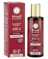 Аюрведический шампунь AMLA для всех типов волос, 210 мл, Khadi