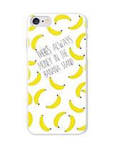 Оригинальный чехол панель накладка для Iphone 7 Plus с принтом Бананы