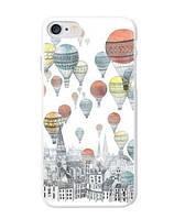 Оригинальный чехол панель накладка для Iphone 7 Plus с принтом Воздушные шары