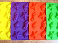 Форма МОРСКОЕ АССОРТИ(силиконовая,для конфет)
