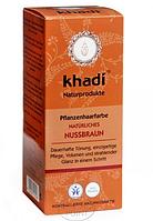 Растительная краска для волос Khadi Натуральный каштановый, 100 г, Khadi