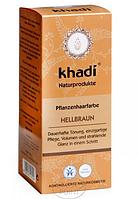 Растительная краска для волос Khadi Светло-коричневый, 100 г, Khadi