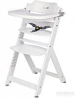 Стульчик для кормления Safety 1st Timba с подушкой Safety 1st стул для кормления TIMBA белый с подушкой Happy Woods