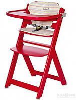 Стульчик для кормления Safety 1st Timba с подушкой Safety 1st стул для кормления TIMBA красный с подушкой Red Dots