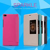 Чехол (книжка) Nillkin Sparkle Series для Huawei Ascend P8