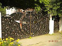 Кованые ворота арт.в 1