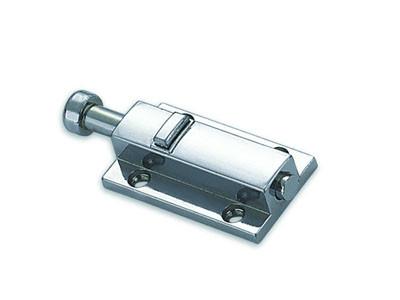 Шпингалет дверной FZB 01-40 кнопка М (2266) CR (PC)