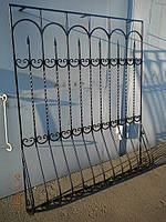 Кованая оконная решетка арт.рк1, фото 1