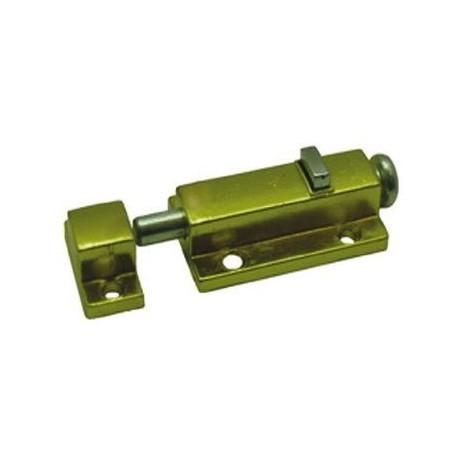 Шпингалет дверной FZB 01-40 кнопка М (2266) G (PB)