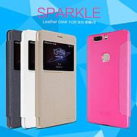 Чехол (книжка) Nillkin Sparkle Series для Huawei Honor V8