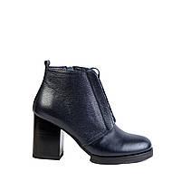 Женские ботинки зимние Windrose 17252240 син., фото 1