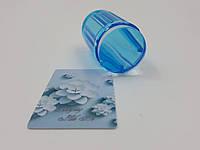 Штамп и скрабер для стемпинга ( силиконовый)