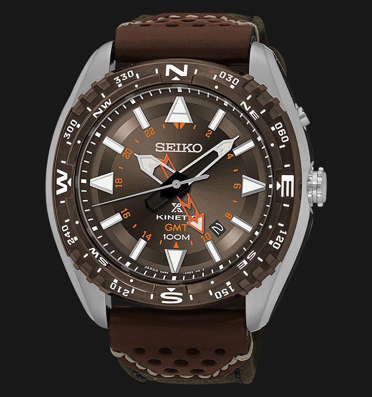 Часы Seiko SUN061P1 Prospex Kinetic Landmaster