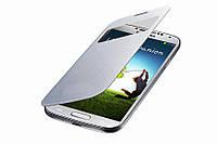 Белый флип для Samsung Galaxy S4