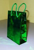 Подарочный пакет 12х9х4 см