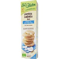 Песочное печенье с кокосовой стружкой, без глютена, 150 г, Ma Vie Sans Gluten