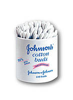 Палочки ватные Johnson's 100 шт
