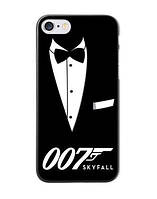 Оригинальный чехол бампер для Iphone 7 Plus с картинкой Агент 007