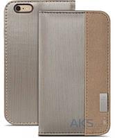 Чехол Moshi Overture Wallet Case Apple iPhone 6 Plus, iPhone 6s Plus Brushed Titanium (99MO052242)