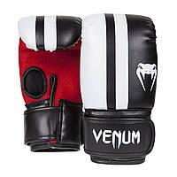Снарядные перчатки Venum Elite Bag Gloves Black