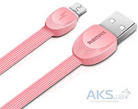 USB кабель REMAX (OR) Shell RC-040m microUSB Pink