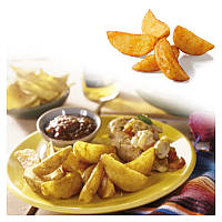 Картофель дольки с корочкой