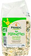 Органическая детская паста «Трехцветная Азбука», 250 г, Primeal