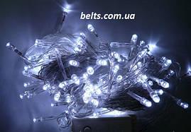 Светодиодная гирлянда 200 LED длина 16 м Белый