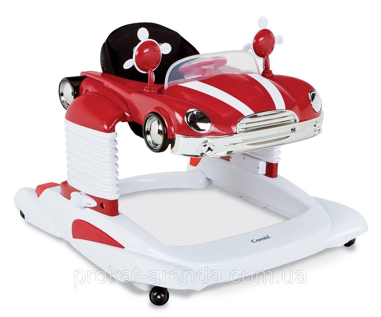 """Ходунки Combi """"Hot wheels Red"""""""